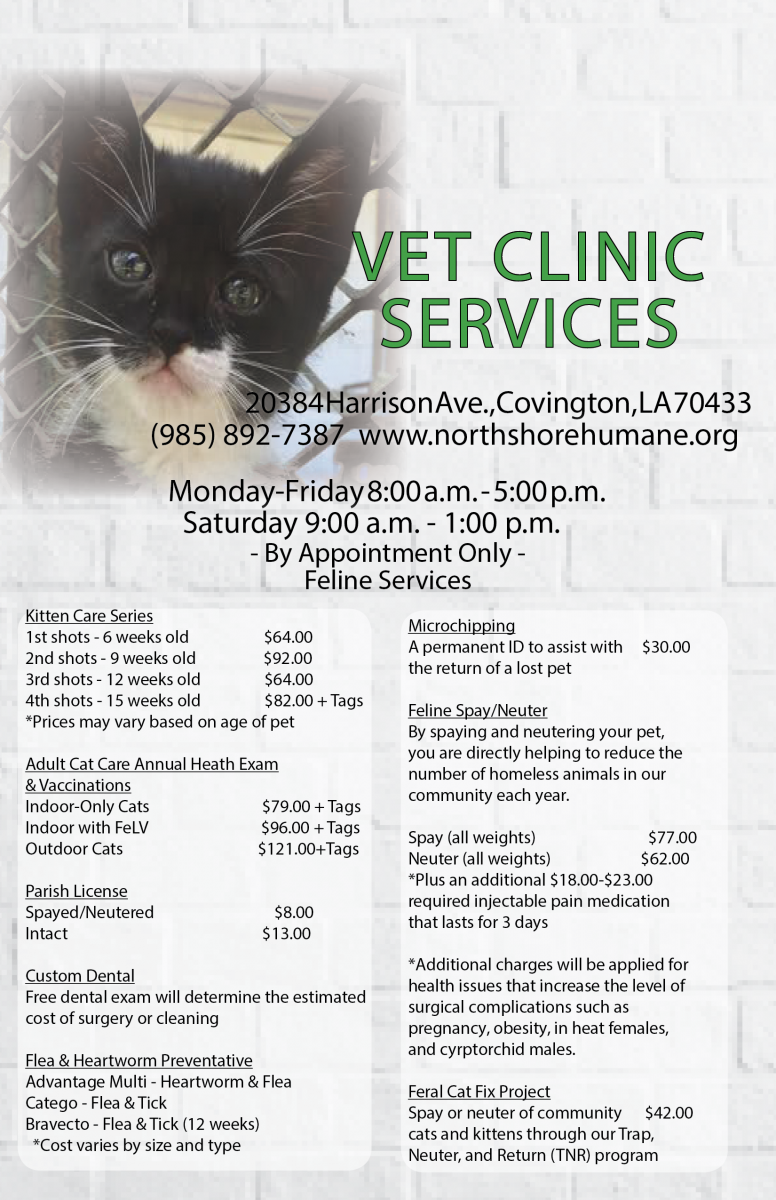 Weld Humane Society Launches Low Cost Community Wellness Clinic